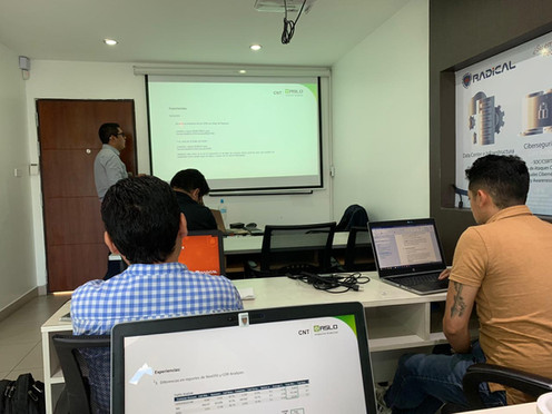 ASLO training a partner in Ecuador
