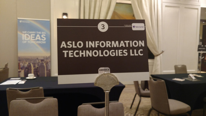 ASLO present at Carrier Community MX City