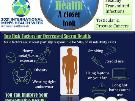 International Men's Health Week at X&Y Fertility Leicester