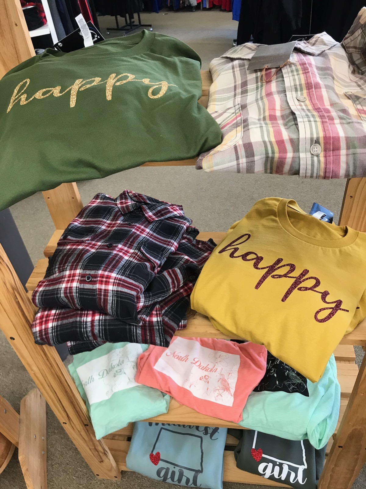 Flannel and Soft Tees