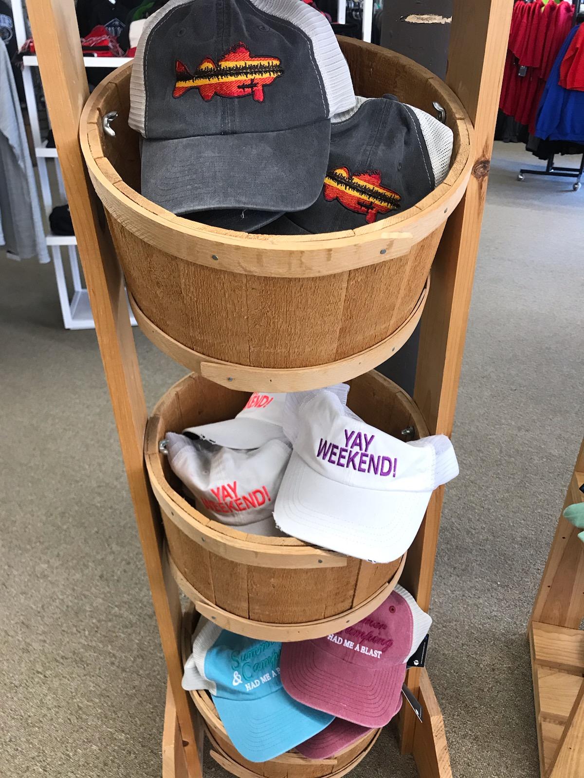 Lake hats!