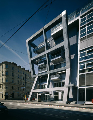 Apartment and Office Building Schlachthausgasse by Coophimmelb(l)au, Vienna - Austria