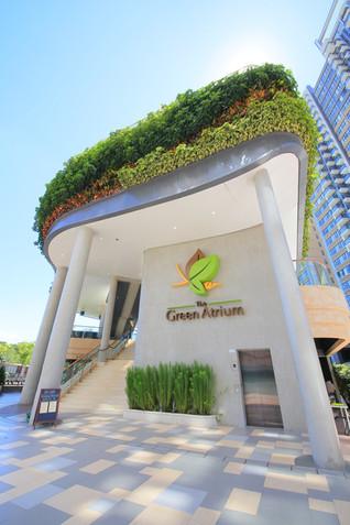 Green Atrium O2 Café by Mas Studio Limited, Hong Kong, China
