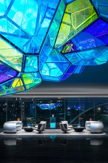 Make Life Multi-planetary: Sales Center of Poly F.S. Skyline Garden by T.K. Chu Design