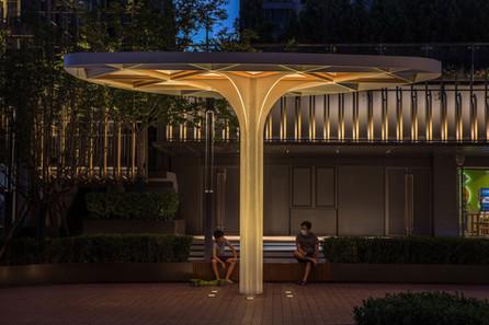 Lighting Heals Urban Space - Beijing CR Land·Instreet / PROL