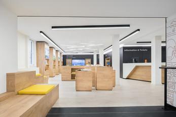 Tourist Information Centre Schwäbich Hall by DIA Dittel Architekten