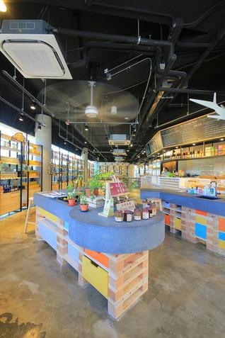 Organic Food Bazaar by Mas Studio Limited, Hong Kong