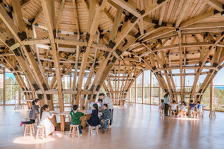 Longfu Life Experience Center — A Universally-used Space Created by General Timbers and Techniques