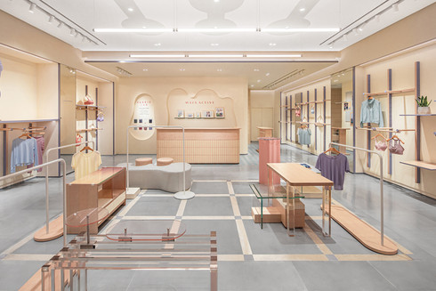 MAIA ACTIVE Flagship Store   An Energy Field full of Macaron Colors by Sò Studio