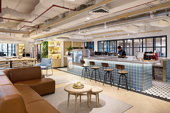 GoWork coworking and office space by Metaphor Interior Architecture