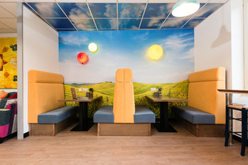 Eye-catching design meets hard-working efficiency at Happy Ltd by Woodhouse Workspace