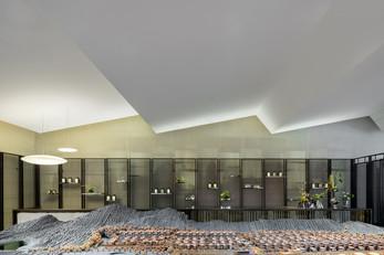 Junxi Mountain Villa Sales Centre by More Design Office