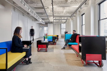 Cornell University unveils Push/Pull furniture series by CL3, Lim + Lu
