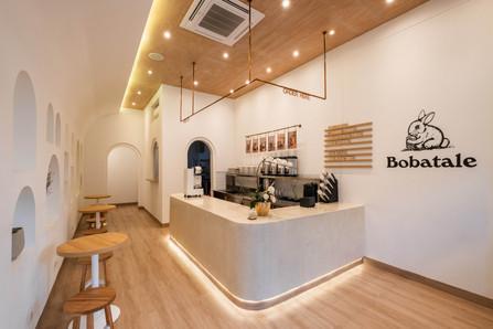 Bobatale in Jakarta, Indonesia by Sarasa Studio