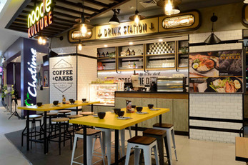 Noodle Culture by Metaphor Interior, Indonesia
