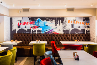 New face of Lollypop Cafe by Creativ Interior, Bucharest
