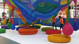 Harmonic Motion by Toshiko Horiuchi MacAdam, IFC Mall - Hong Kong