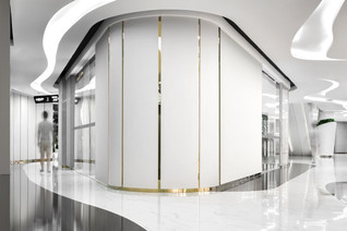 Flowing bubbles - Lonshry Jewelry by AD Architecture