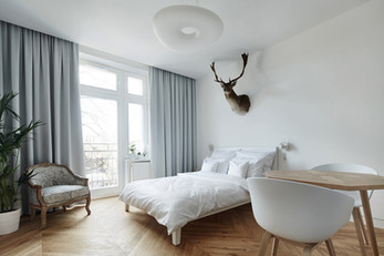 A Minimalist Studio Apartment