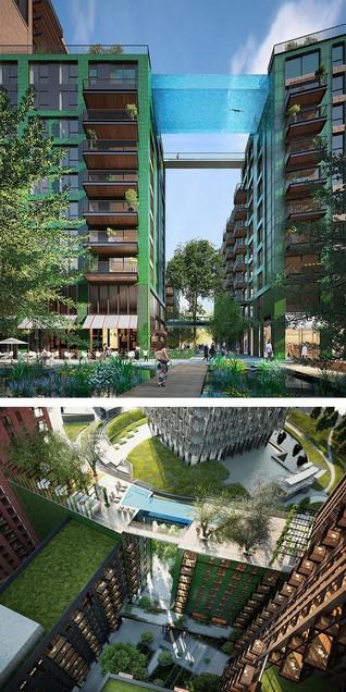 Embassy Gardens Sky Pool in London