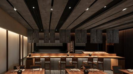 Ta-Kumi restaurant by Paco Lago Interioriza