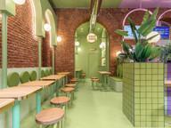 Masquespacio designs first interior in Milan for Bun