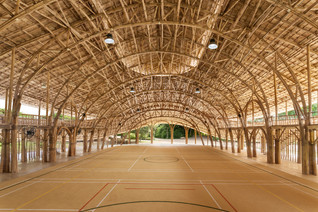 Bamboo Sports Hall by Chiangmai Life Construction