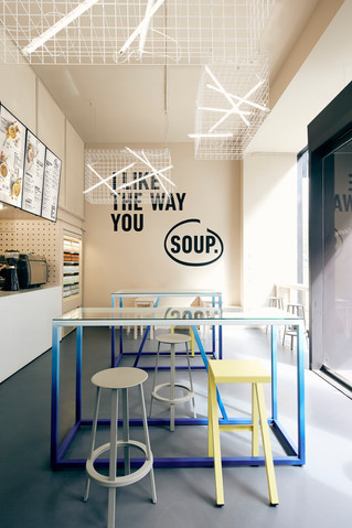 Urban/Soup Market Fit for Soup Start-up by Designliga