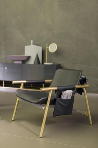 Eddy Lounge Chair by Alain Gilles for Bonaldo