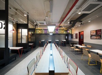 Burger Laboratory by LOTTERIA, JHP Design, Seoul - South Korea