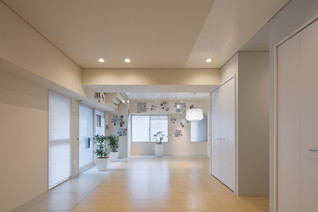 Yakuin Condominium Renovation by Yusaku Matsuoka Architects and Associates, Japan