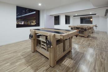 Spatial Renovation of M.Y.Lab Wood Workshop by Continuation Studio, Shanghai