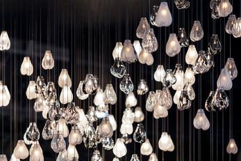 Petra Krausová's Cassia lamps for installation at Maison&Objet
