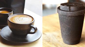 Kaffeeform: Coffee cups made from used coffee