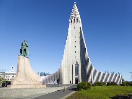 Hallgrímskirkja Church - the most famous church in Iceland