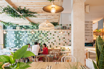 DesignLSM creates the interior for London's first dedicated Avocado bar