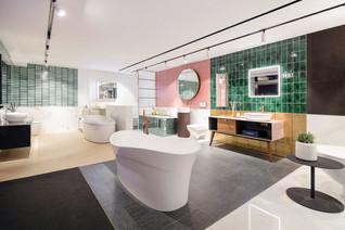 Lim + Lu reimagines retail experience by introducing 7 unique bathroom scenarios for Colourliving