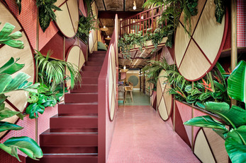 Kaikaya, the first tropical sushi restaurant in Valencia designed by Masquespacio