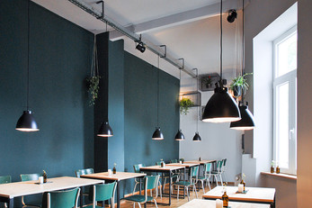 Collins Restaurant + Bar by why the friday, Germany