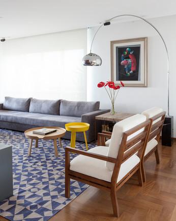 Modern apartment by CR2 Arquitetura
