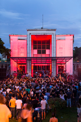 Dekmantel Festival São Paulo 2017 scenography designed by SuperLimão Studio, Atelier Marko Brajovic