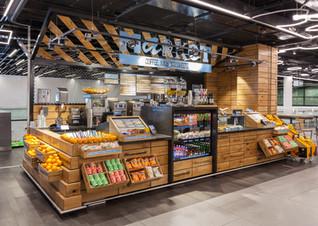 Street Food Market by UXUS, London - UK