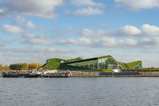 The redesigned Biesbosch Museum