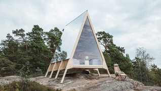 Enjoy more with less:Nolla Cabin by Robin Falck