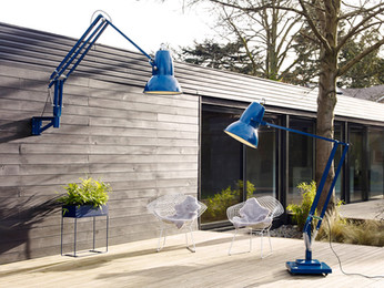 An Iconic Lamp Goes Giant for Outdoors