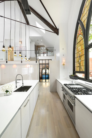 A Church transformed into a family home