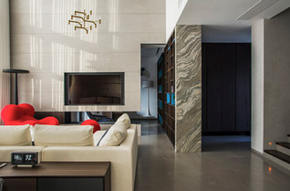 G-You Interior Design infused a house with the spirit of the humorlife and minimalism