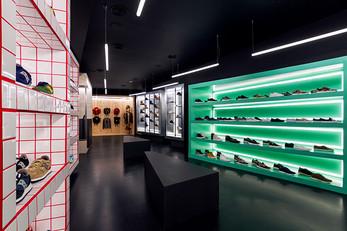 D Brand store by Nihil Estudio