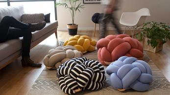 Knotty Cushions from Knots Studio