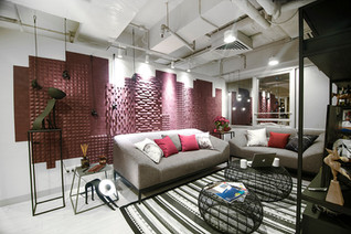 Pelcraft Wall Feature by CTRC Design Consultant Ltd.